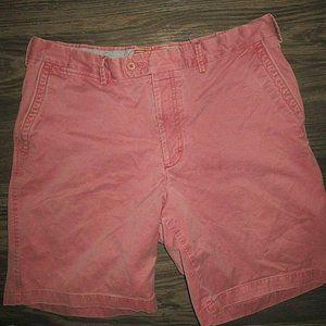 Peter Millar 34 Flat Front Chino Shorts